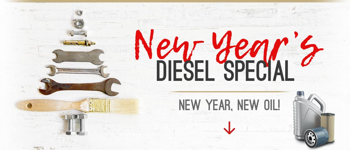 New Year's Diesel Special | Gary's Auto Service